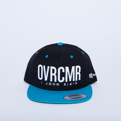 OVRCMR Neon Blue Hat - MandisaOfficial