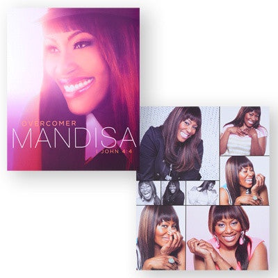Overcomer 8x10 Double-Sided Poster - MandisaOfficial