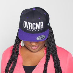 OVRCMR Purple Hat - MandisaOfficial