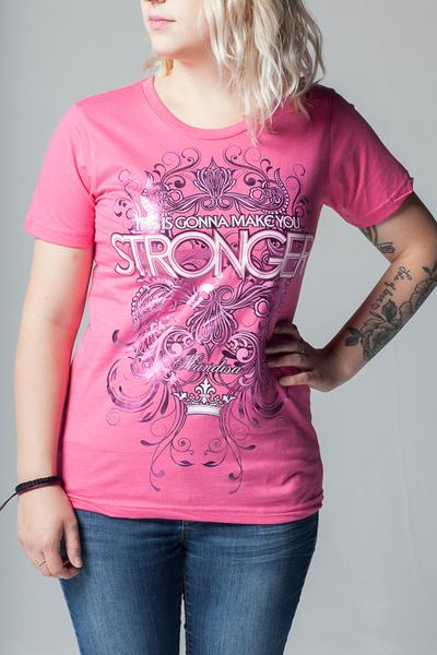 Stronger Ladies T-Shirt - MandisaOfficial