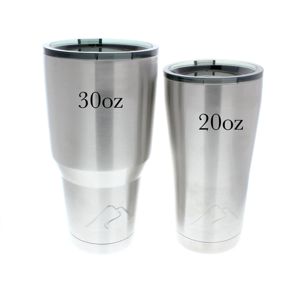 Coffee is Coming - Stainless Steel Tumbler (Customize)