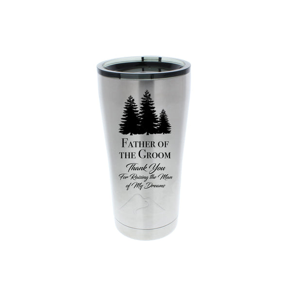 Father of the Groom Wedding Tumbler
