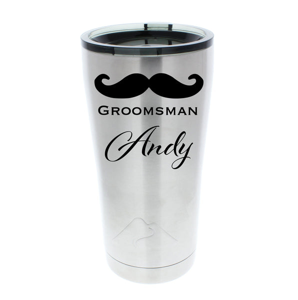 groomsman gifts stainless steel tumbler