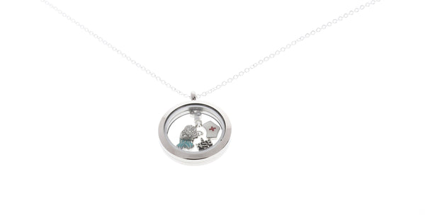 Floating Locket Nurse Necklace