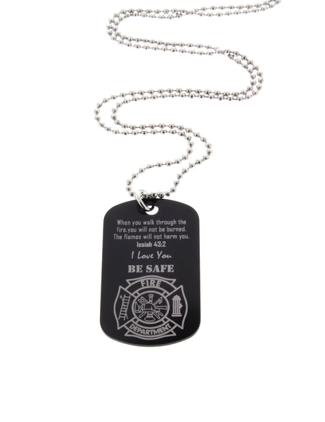 Firefighter Dog Tag