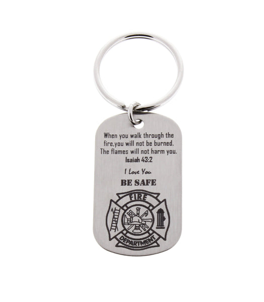 Firefighter Keychain