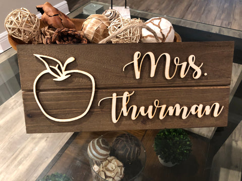 custom wood sign teacher sign gifts for teachers