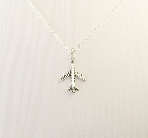 Airplane Necklace - Anomaly Creations & Designs
