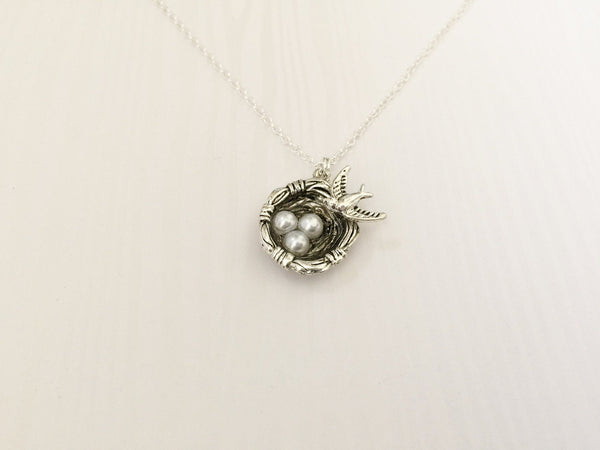 Birds Nest Necklace - Anomaly Creations & Designs