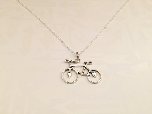 Bicycle Necklace - Anomaly Creations & Designs