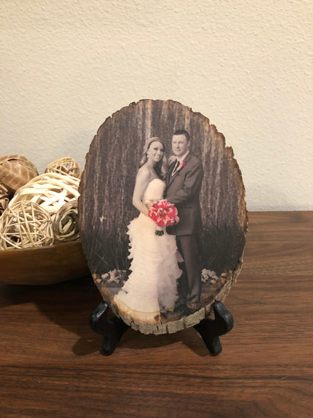 Wood Photo (Anniversary/Engagement)