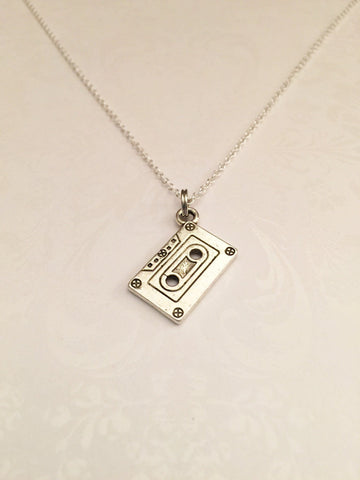 Cassette Tape Necklace - Anomaly Creations & Designs