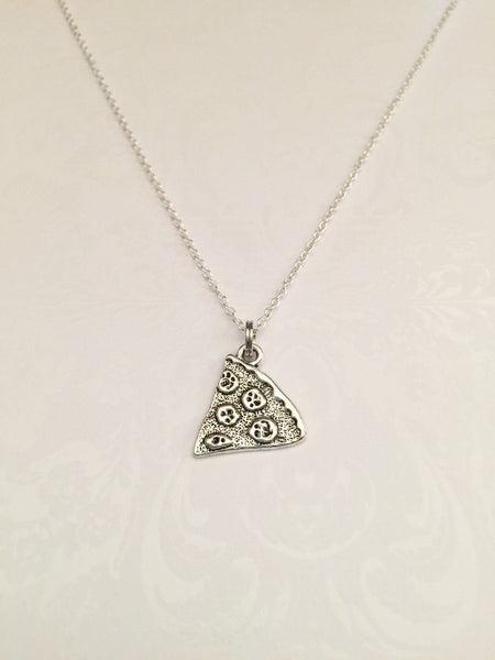 Pizza Slice Necklace - Anomaly Creations & Designs  - 2