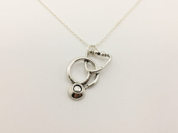 Stethoscope Necklace - Anomaly Creations & Designs  - 1