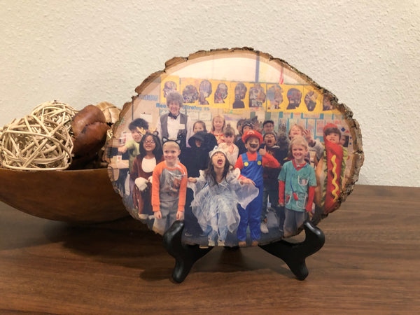 Wood Plaque Photo- Teacher Gifts