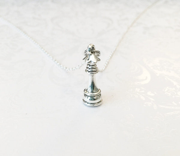 Chess Necklace - Anomaly Creations & Designs