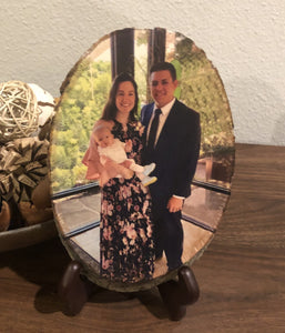 Wood Photo (Baby Keepsake)