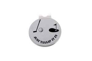 Golf Ball Marker- Just Tap it in