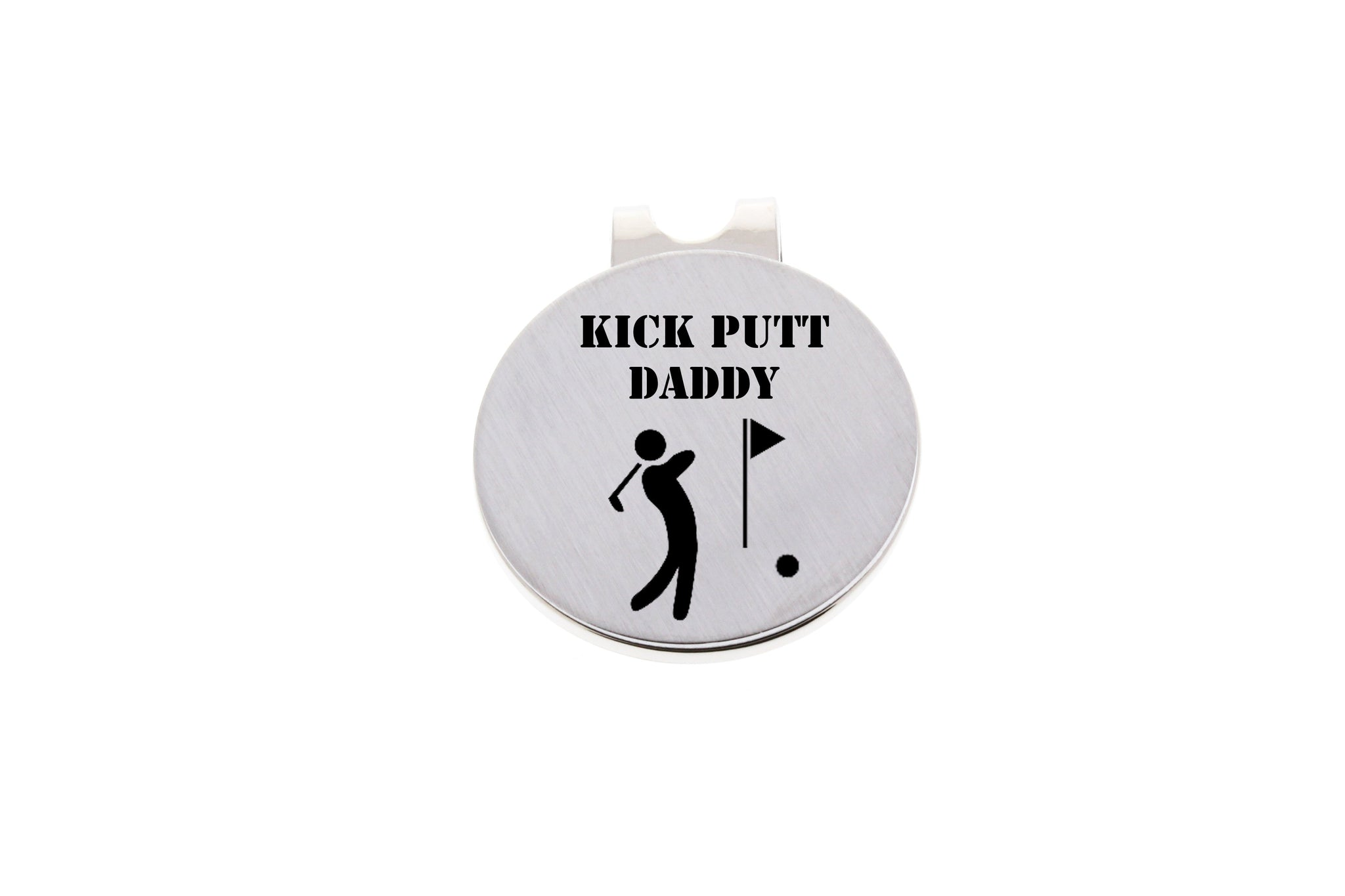 Golf Ball Marker- Kick Putt Daddy