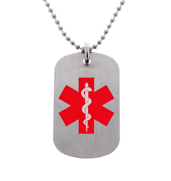 Medical Alert Necklace (Customize)
