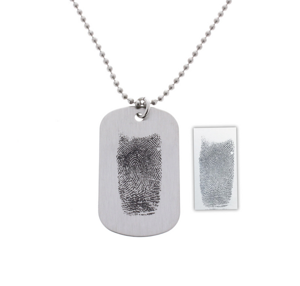 Fingerprint Necklae - Customize