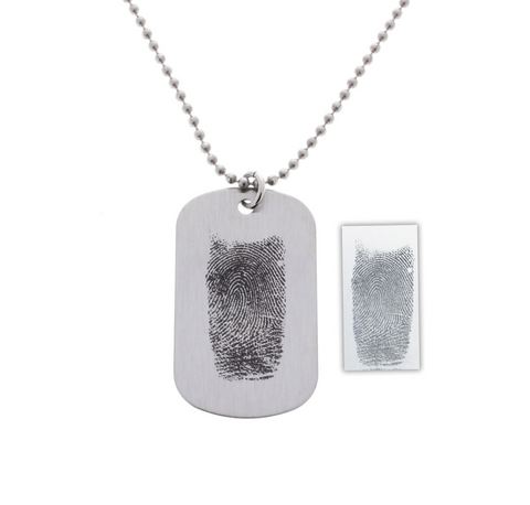 Fingerprint Necklace - Customize