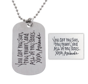 Handwriting Necklace - Customize