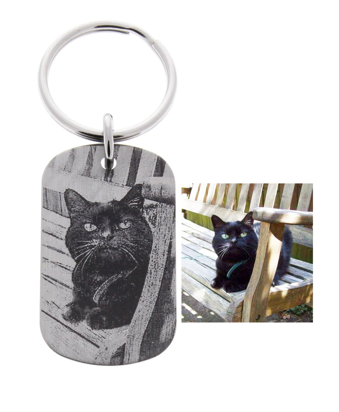 Pet Photograph Keychain