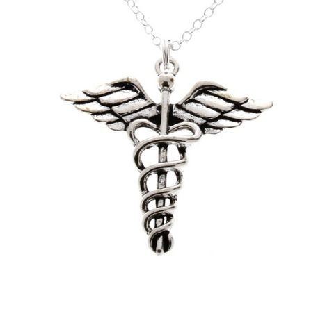 Caduceus Necklace