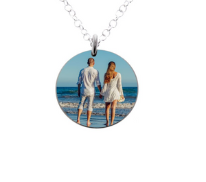 Wedding Keepsake - Photograph Necklace