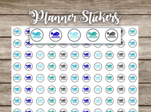Planner Stickers- Swim stickers