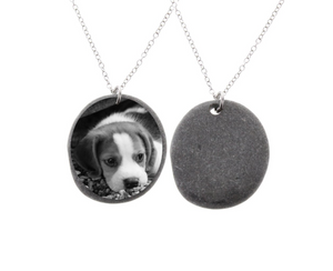 Stone Necklace - Pet Keepsake