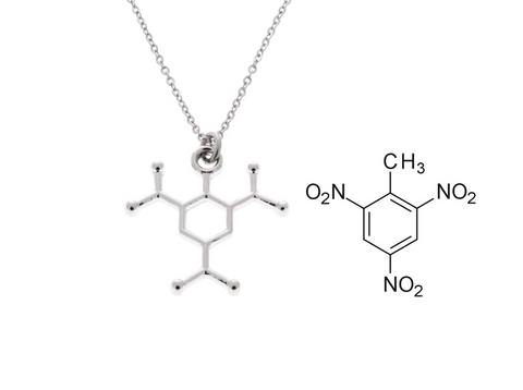 Trinitrotoluene (TNT) Molecular Necklace