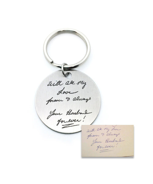 Drawing Handwriting Keychain - Anomaly Creations & Designs