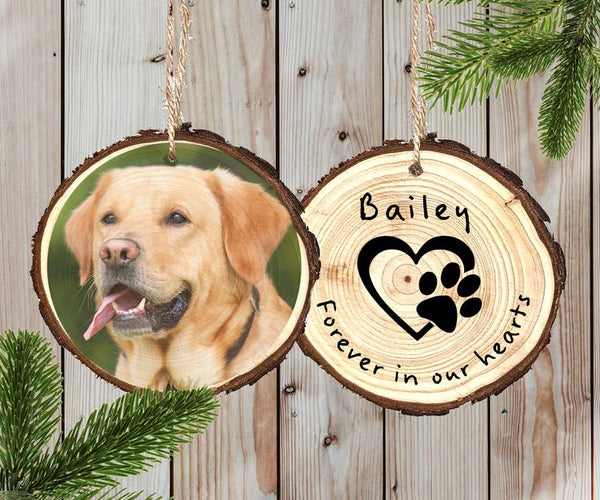 Wood Ornament - Pet Keepsake