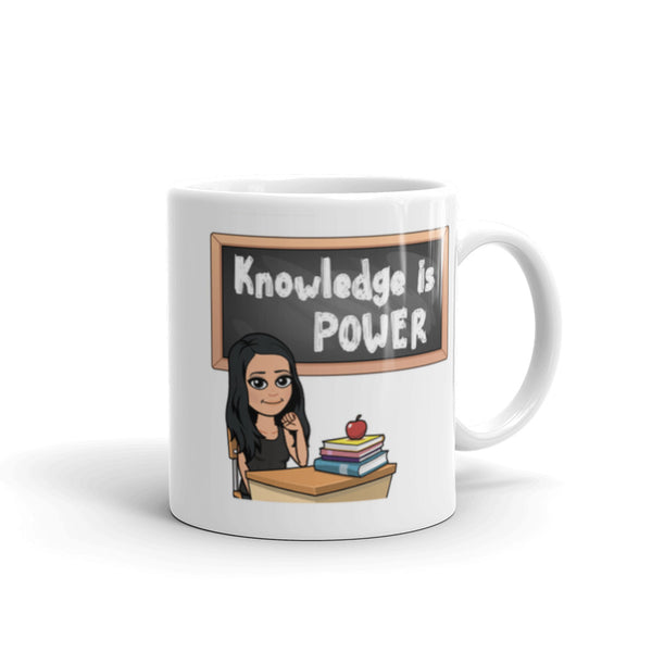 Personalized Teacher Bitmoji Mug
