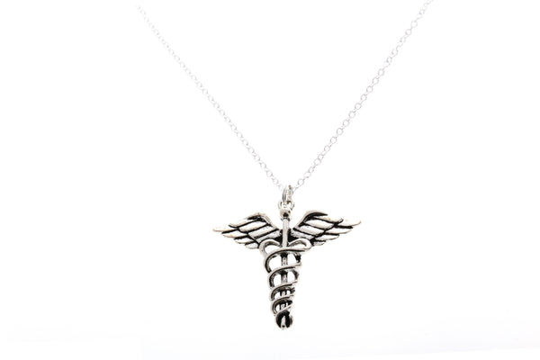 Caduceus Necklace - Anomaly Creations & Designs