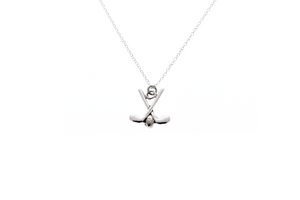 Golf Clubs Necklace