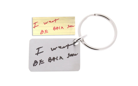 Handwriting Keychain - Customize