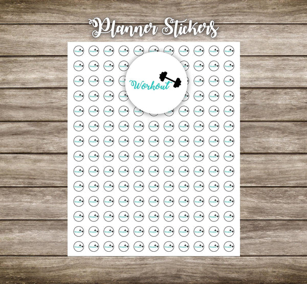 Planner Stickers- Workout stickers