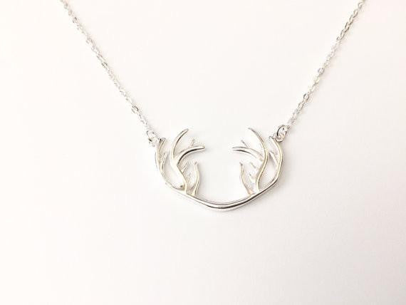 Deer Antler Necklace - Anomaly Creations & Designs