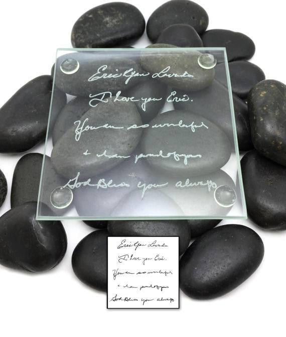 Handwriting Custom Coaster