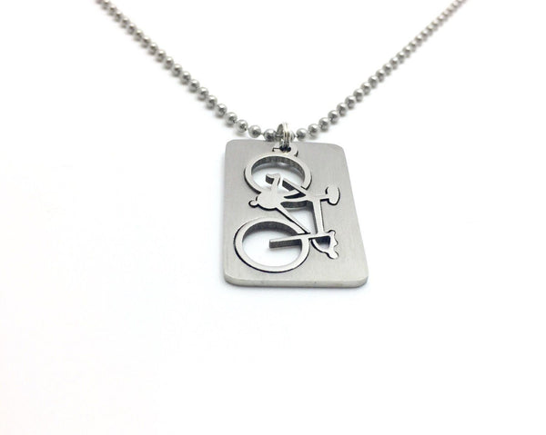 Bicycle Necklace - His & Her's