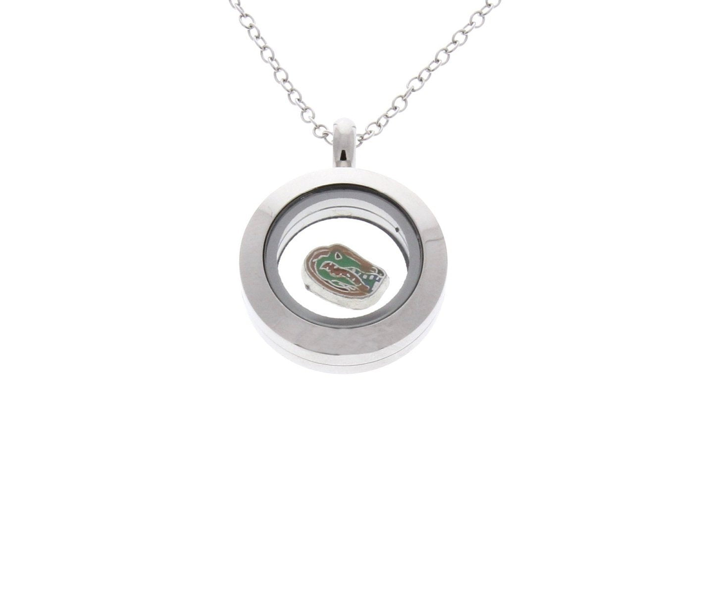 Florida Gators Floating Locket Necklace