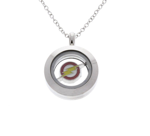 Flash Necklace- The Flash Floating Locket