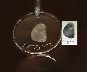 Fingerprint Ornament
