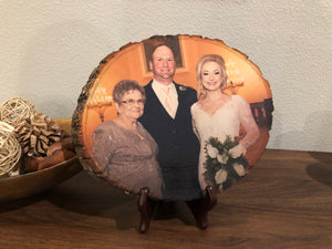 Wedding Wood Photo