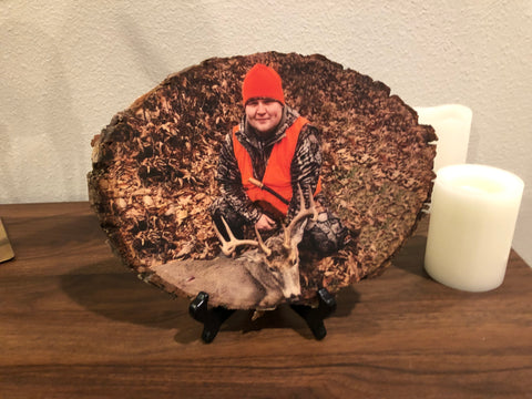 Wood Photo (Hunting Decor)