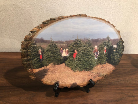 Wood Photo (Custom Wood Slice)