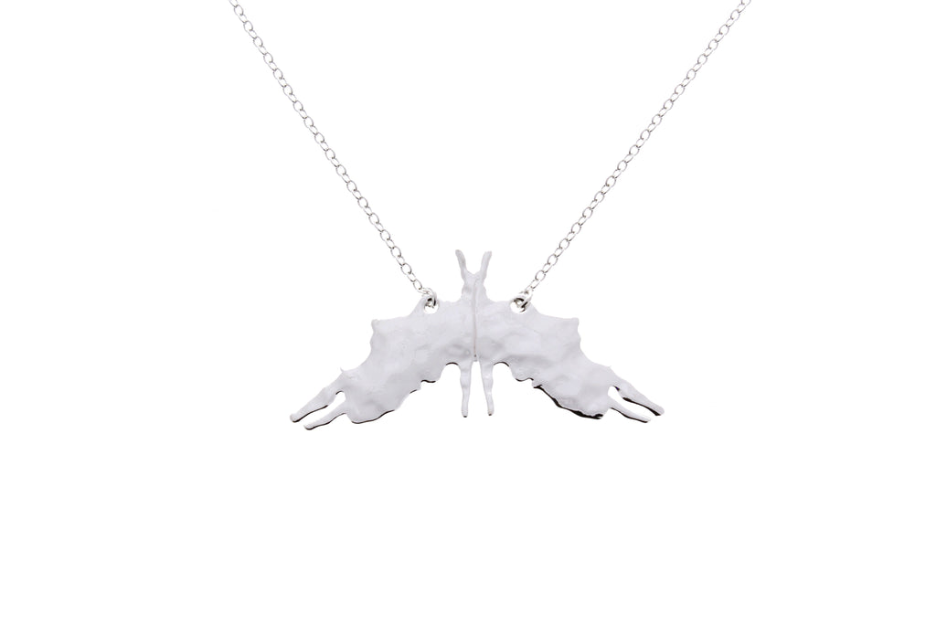 Rorschach Inkblot Necklace Anomaly Creations Designs